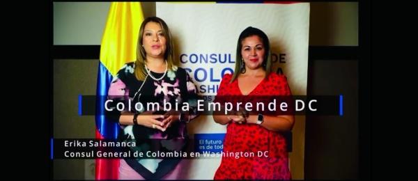 El Consulado de Colombia en Washington invita a la Feria Colombia Emprende DC, el 28 de agosto de 2021